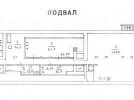 Лот № 4782, Продажа офисов в ЮАО - План