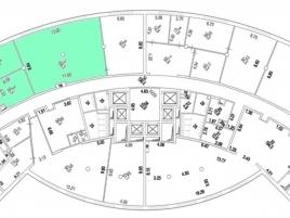 Лот № 4788, Бизнес-центр Алексеевская Башня, Аренда офисов в СВАО - План