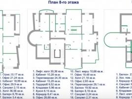 Лот № 4795, Продажа офисов в ЦАО - План