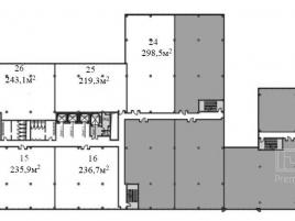 Лот № 4826, Бизнес-центр West Plaza, Продажа офисов в ЮЗАО - План