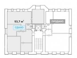 Лот № 4870, Продажа офисов в ЦАО - План