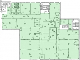 Лот № 4891, Бизнес-центр Nat Invest Plaza, Аренда офисов в ЮЗАО - План