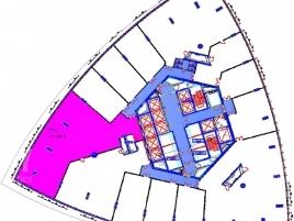 Лот № 4907, Москва-сити, Башня Федерация (Запад), Продажа офисов в ЦАО - План