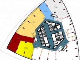 Лот № 4908, Москва-сити, Башня Федерация (Запад), Продажа офисов в ЦАО - План