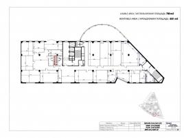 Лот № 4916, БЦ Riverside Towers, Аренда офисов в ЦАО - План