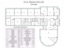 Лот № 4917, Продажа офисов в САО - План