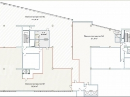 Лот № 4933, Олимпик Холл, Продажа офисов в ЦАО - План