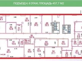 Лот № 4997, Бизнес-центр Дербеневская Плаза, Аренда офисов в ЦАО - План