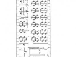 Лот № 5044, Бизнес-центр Лефорт, Аренда офисов в ВАО - План