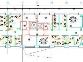 Лот № 5045, Бизнес-центр Лефорт, Аренда офисов в ВАО - План