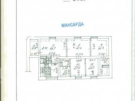 Лот № 5086, Особняк на М. Знаменском переулке, Аренда офисов в ЦАО - План