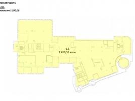 Лот № 5104, Торгово-офисный комплекс Midland Plaza, Аренда офисов в ЦАО - План