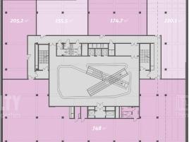 Лот № 5160, Бизнес-центр «Dominion Tower», Аренда офисов в ЮВАО - План