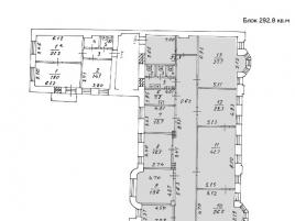 Лот № 5165, Аренда офисов в ЦАО - План
