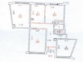Лот № 5168, Продажа офисов в ЮЗАО - План