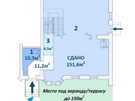 Лот № 5190, Продажа офисов в ЮВАО - План