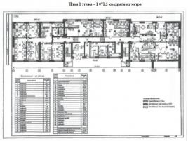 Лот № 5278, Деловой центр Автозаводский, Продажа офисов в ЮАО - План