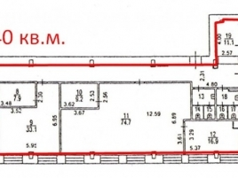 Лот № 5301, Бизнес-центр Бастион-Капитал, Аренда офисов в СВАО - План
