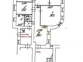 Лот № 5358, Продажа офисов в ЦАО - План