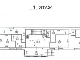 Лот № 5390, Продажа офисов в ЦАО - План