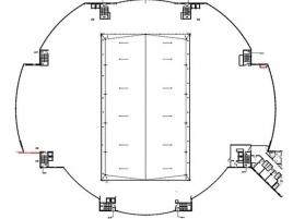 Лот № 5552, Бизнес Центр «RigaLand», Аренда офисов в СЗАО - План