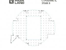 Лот № 5553, Бизнес Центр «RigaLand», Аренда офисов в СЗАО - План