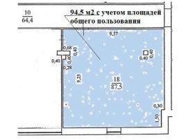 Лот № 5558, БЦ Туполев-Плаза, Аренда офисов в ЦАО - План