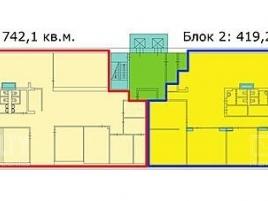 Лот № 5571, БЦ Салют, Аренда офисов в ЦАО - План