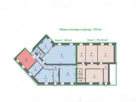 Лот № 5592, Аренда офисов в САО - План