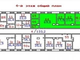 Лот № 5674, Аренда офисов в САО - План