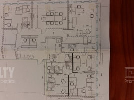 Лот № 5693, БЦ Лотте, Аренда офисов в ЮЗАО - План