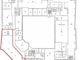 Лот № 5707, БЦ Кристалл, Аренда офисов в ЮАО - План