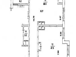 Лот № 5739, ЖК Шмитовский 16, Продажа офисов в ЦАО - План