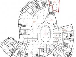 Лот № 5815, Бизнес-Центр Лотос, Аренда офисов в ЮЗАО - План