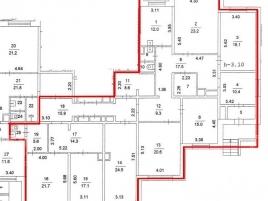 Лот № 5848, Аренда офисов в ЮЗАО - План