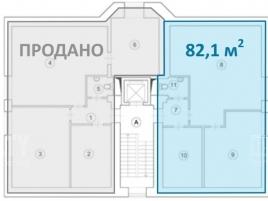Лот № 5853, Аренда офисов в ЦАО - План
