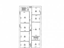 Лот № 5930, Продажа офисов в ЦАО - План