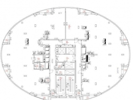Лот № 5959, МФК «Poklonka Place», Продажа офисов в ЗАО - План