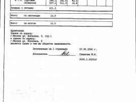 Лот № 5985, Продажа офисов в ЦАО - План
