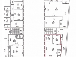 Лот № 6061, Бизнес-центр Мелиора Плейс, Аренда офисов в ЦАО - План