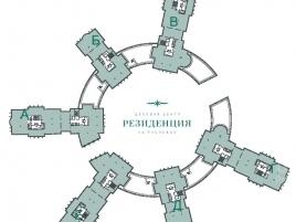 Лот № 6069, Бизнес-центр Резиденция, Аренда офисов в Московская область - План