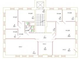 Лот № 6089, Продажа офисов в ЦАО - План