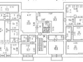 Лот № 6099, Продажа офисов в ЗАО - План