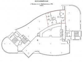 Лот № 6141, БЦ Свежий Ветер, Аренда офисов в ЮАО - План