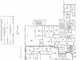 Лот № 6148, Бизнес-центр Тропикано, Аренда офисов в ЦАО - План