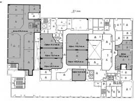 Лот № 6203, Бизнес-центр «Post&Plaza», Аренда офисов в ЦАО - План