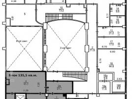 Лот № 6205, Бизнес-центр «Post&Plaza», Аренда офисов в ЦАО - План