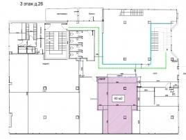 Лот № 6398, Бизнес-центр «Аптекарский огород», Аренда офисов в ЦАО - План