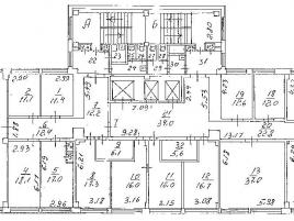 Лот № 6419, Продажа офисов в ЮВАО - План