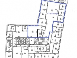 Лот № 6492, Аренда офисов в ЦАО - План